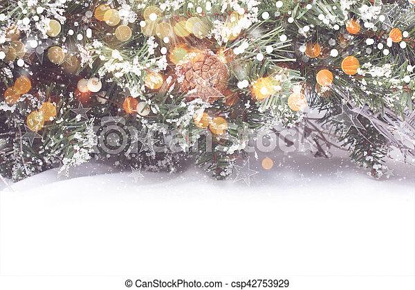 árvore, natal, fundo - csp42753929