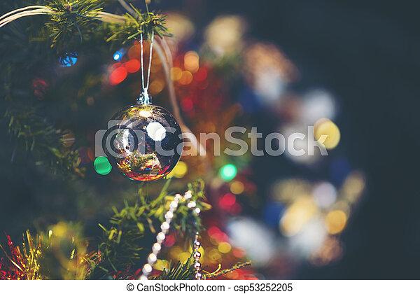 árvore, natal, fundo - csp53252205