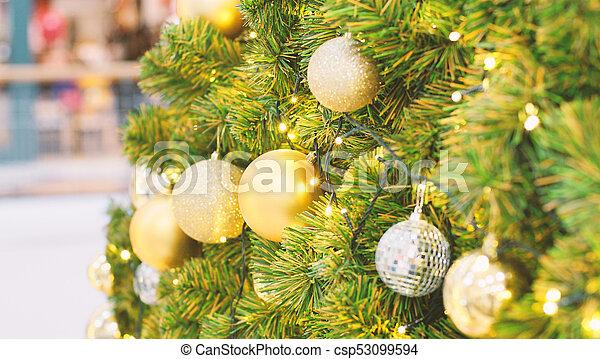 árvore, natal, fundo - csp53099594