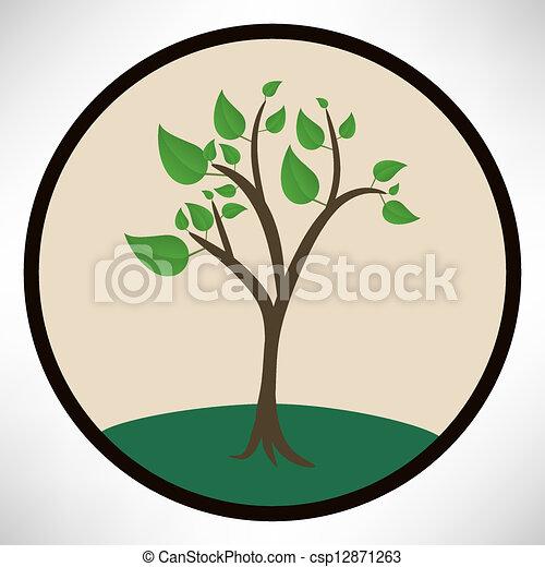 árvore verde - csp12871263