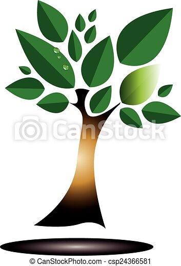 árvore verde - csp24366581