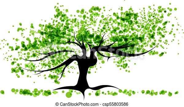 árvore verde - csp55803586