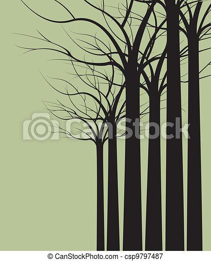 árvores - csp9797487