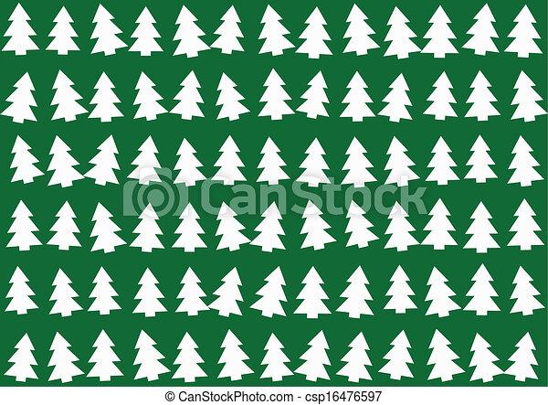 árvores, natal, padrão experiência - csp16476597