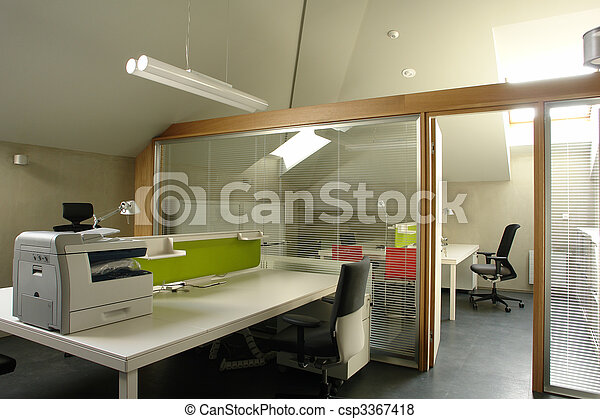ático, oficina - csp3367418