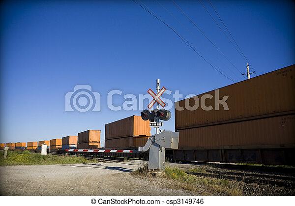 átkelés, vasút - csp3149746
