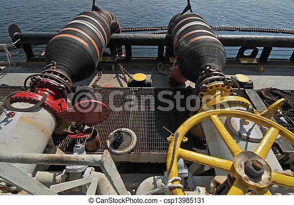 átutalás, gáz, fennsíkok, olaj - csp13985131
