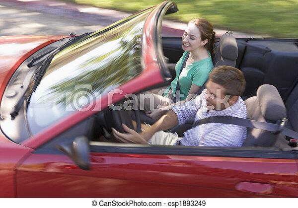 átváltható autó, mosolygós, párosít - csp1893249