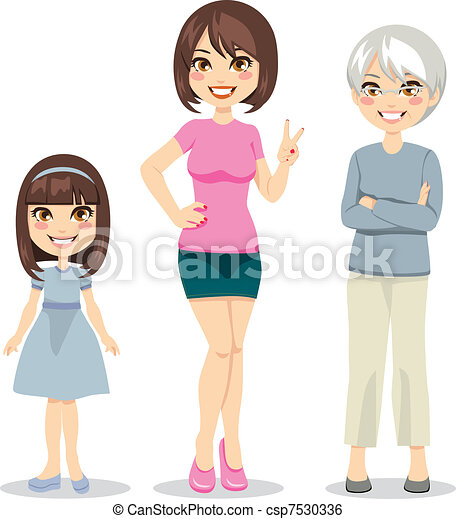 âge, femmes - csp7530336