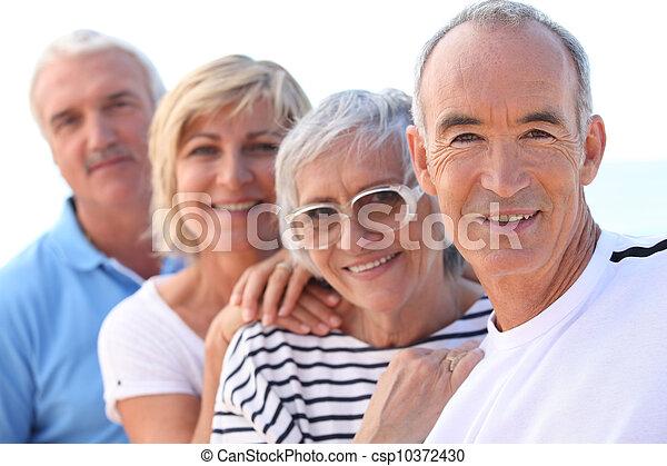 Gruppe der Senioren - csp10372430