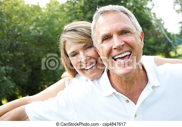 Seniorenpaar - csp4847617