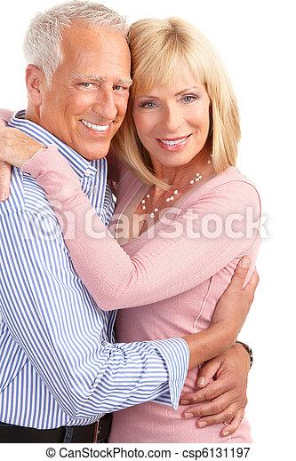 Seniorenpaar - csp6131197