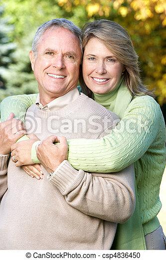 Seniorenpaar - csp4836450