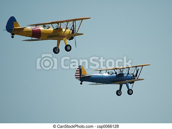 årgång, airplanes - csp0066128
