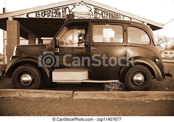årgång bil - csp11407677