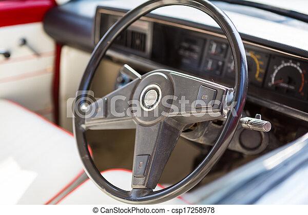 årgång bil - csp17258978