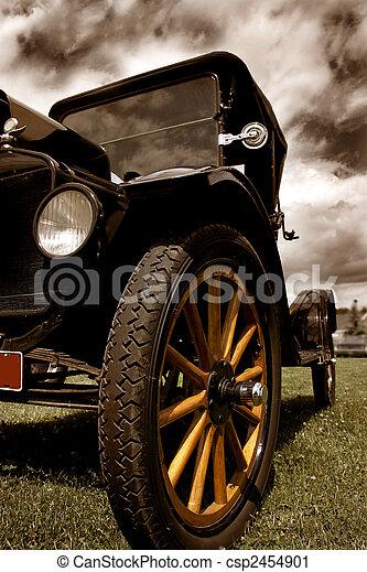 årgång bil - csp2454901