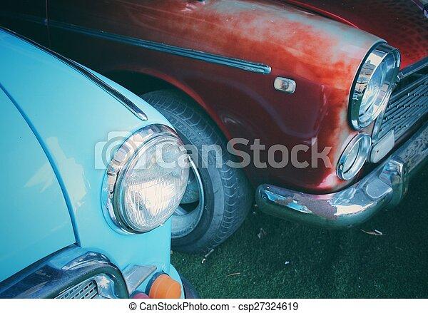 årgång bil - csp27324619