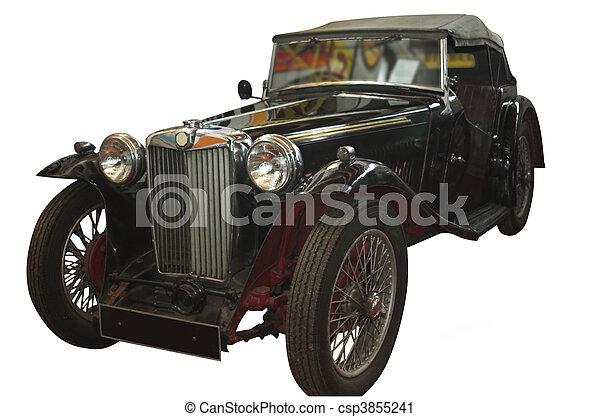 årgång bil - csp3855241