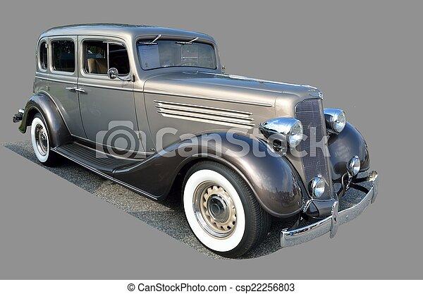 årgång bil - csp22256803