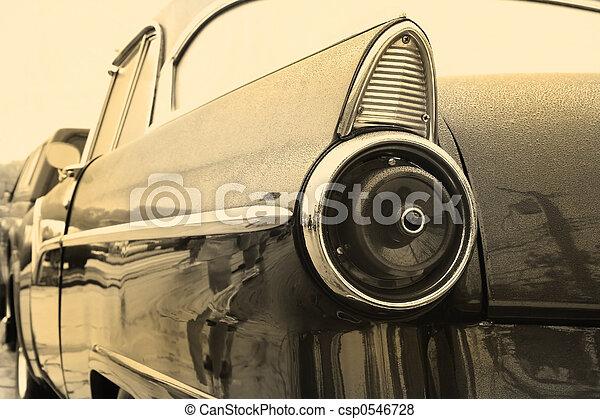 årgång bil - csp0546728