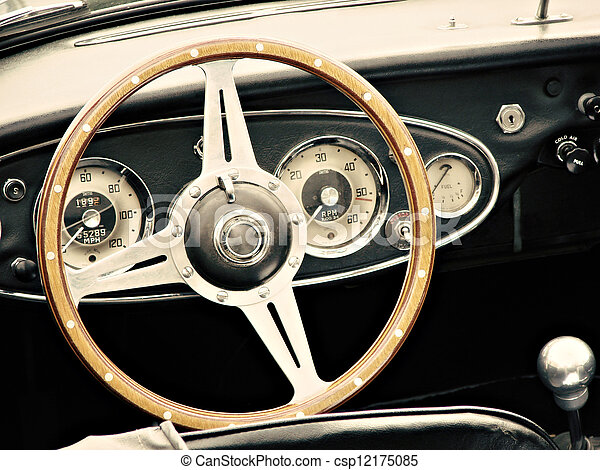 årgång bil - csp12175085