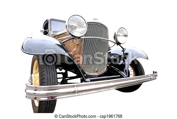 årgång bil - csp1961768