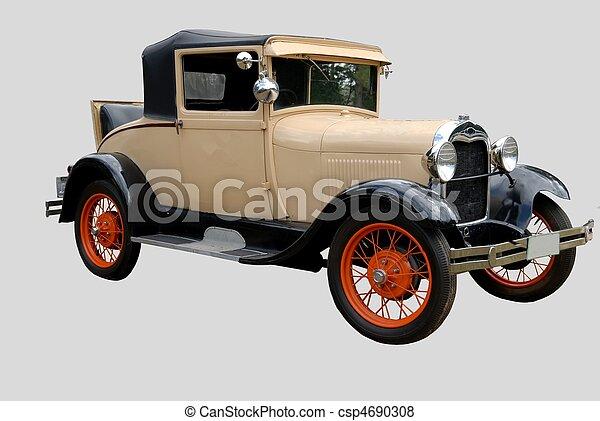 årgång bil - csp4690308