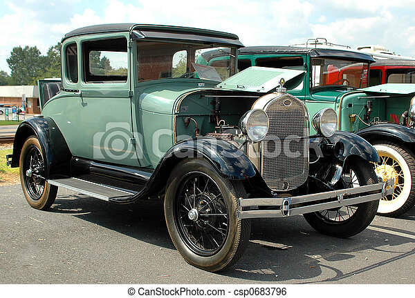 årgång bil - csp0683796