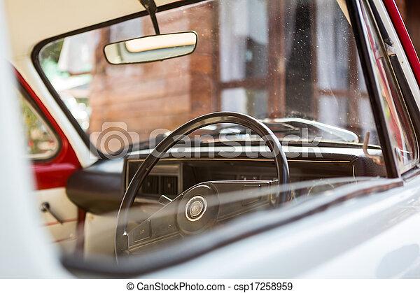 årgång bil - csp17258959