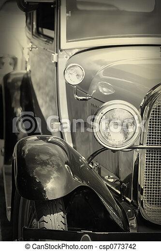 årgång bil - csp0773742