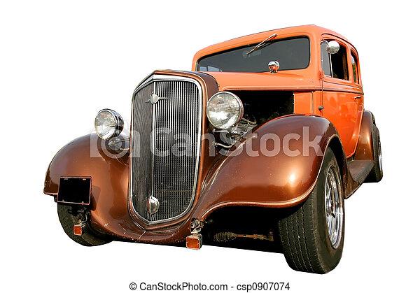 årgång bil - csp0907074