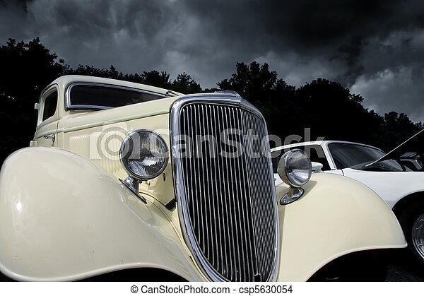 årgång bil - csp5630054