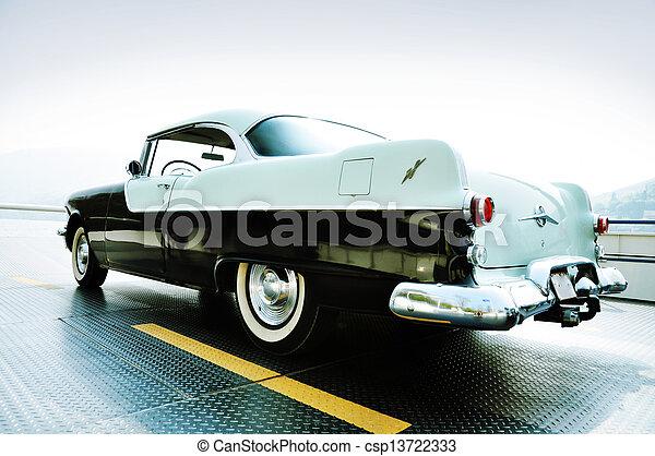 årgång bil - csp13722333