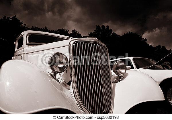 årgång bil - csp5630193