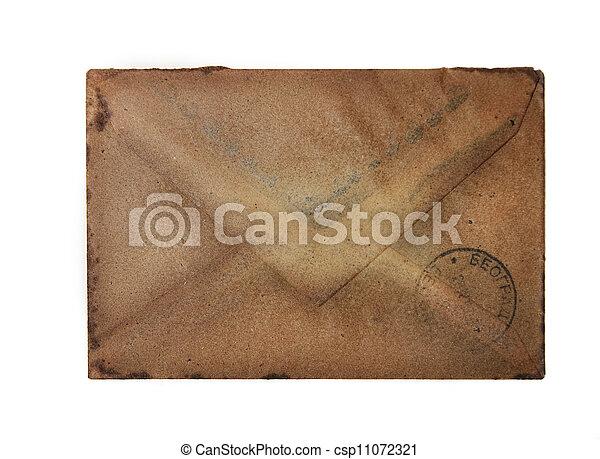 årgång, kuvert - csp11072321