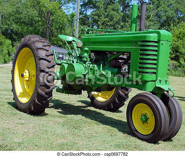 årgång, traktor - csp0697782