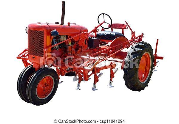 årgång, traktor - csp11041294