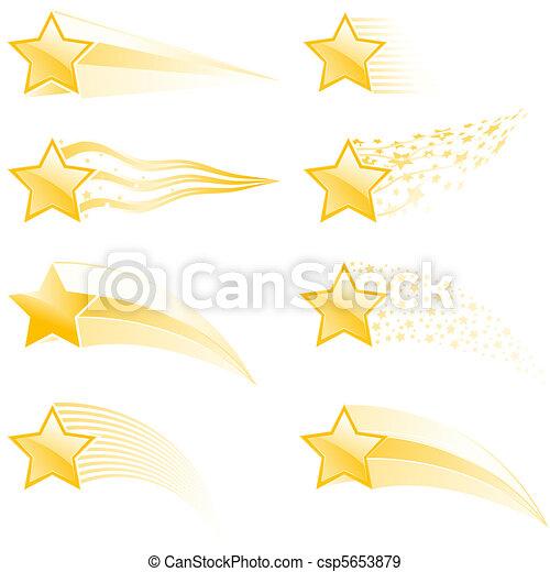 återstående tid spåret, stjärna - csp5653879
