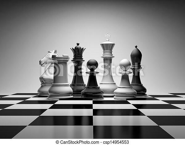 échecs, composition - csp14954553