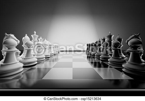 échecs, composition - csp15213634