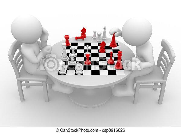 échecs - csp8916626