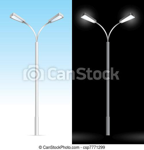 éclairage public - csp7771299
