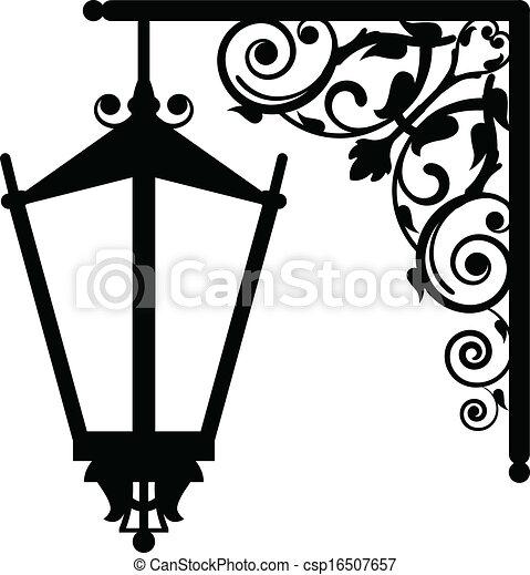 éclairage public, vendange - csp16507657