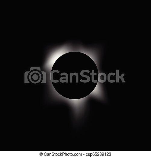 éclipse, solaire - csp65239123