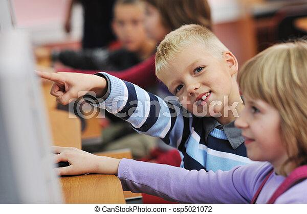 école, education, il, enfants - csp5021072
