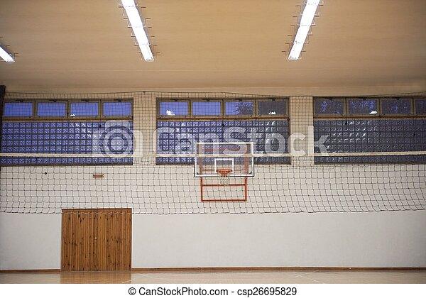 école, gymnase - csp26695829