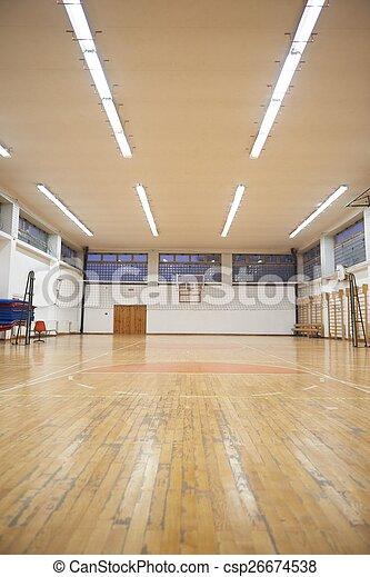 école, gymnase - csp26674538