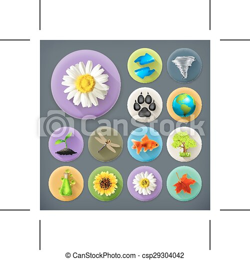 écologie, ombre, long, nature - csp29304042