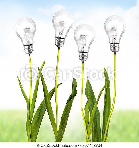 écologique, énergie - csp7772784